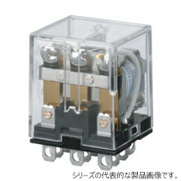 在庫品 オムロン LY3N AC100/110 バイパワーリレー 基準形 3極 表示灯付 プラグイン端子