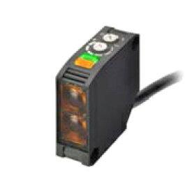 オムロン E3JK-RR12 2M AC/DC電源フリータイプ 光電センサ 回帰反射形(MSR機能付き) 検出距離: 100mm〜6m 入光時ON/遮光時ON 切替式 リレー出力 コード引き出しタイプ(2m)  (反射板別売)