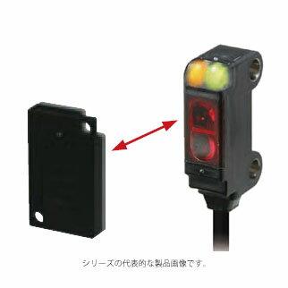 在庫品 オムロン E3T-SR41 2M アンプ内蔵形光電センサ 回帰反射形(MSR機能なし) 検出距離30〜200mm 入光時ON NPN出力 コード引き出しタイプ(2m)