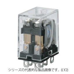 在庫品 オムロン LY1 AC200/220 バイパワーリレー 基準形 1極 プラグイン端子