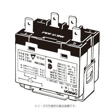 在庫品 オムロン G7L-1A-T AC100/120 パワーリレー E金具/アダプタ/ソケット取りつけ形 1極 タブ端子形