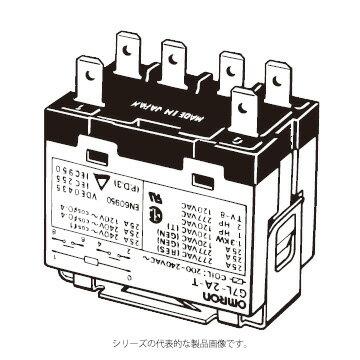 在庫品 オムロン G7L-2A-T AC200/240 パワーリレー E金具/アダプタ/ソケット取りつけ形 2極 タブ端子形