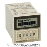 在庫品 オムロン H3CA-8H AC200/220/240 ソリッドステート・タイマ 表面取付/ 埋込み取付(共用) 48×48mm パワーオンディレー動作 8Pソケット接続 0.1s〜9990h 接点出力リレー2c(限時)