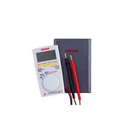 在庫品 三和電気計器 PM3 デジタルマルチメータ/ポケットタイプ 厚さ 8.5mmの超薄型多機能コンパクト