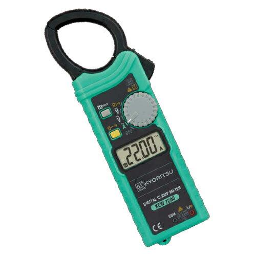 在庫品 共立電気計器 キュースナップ(交流電流測定用クランプメータ) 2200
