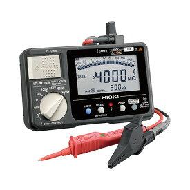 在庫品 日置電機 HIOKI IR4052-11 デジタル 絶縁抵抗計 5レンジ スイッチ付きリード付属(L9788-11)