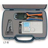 LANケーブル導通テスタ付きLANケーブル加工用工具セットLT-B