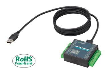 在庫品 コンテック DIO-0808LY-USB USB2.0対応 絶縁型デジタル入出力ターミナル