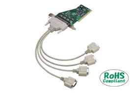 コンテック COM-4CL-PCI PCI対応非絶縁型RS-232C 4chシリアルI/Oボード