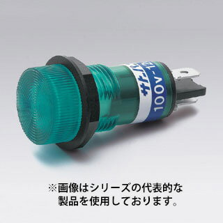 在庫品 BN-2-2-G サトーパーツ ネオンブラケット 取付穴φ15 AC200V〜250V はんだ付け・187タブ端子 緑
