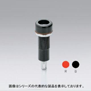 在庫品 TJ-4-R サトーパーツ チップジャック 取付穴φ8 30V-5A 赤