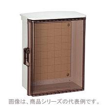 在庫品 日東工業 キー付耐候プラボックス・透明扉付 OPK12-2525CA 屋根付
