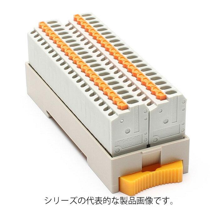 在庫品 東洋技研 PCXV-COM40P コモン端子台 スプリングロック式 (全極 +COM)