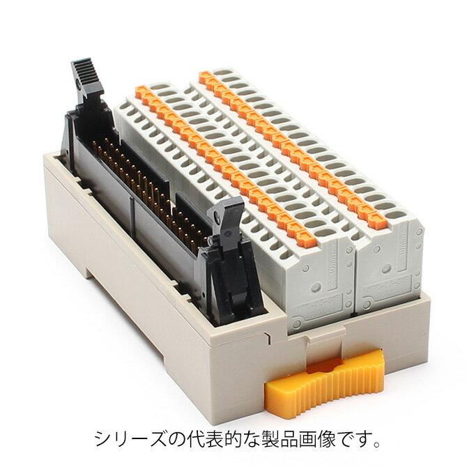 在庫品 東洋技研 PCXV-1H40 スプリングロック端子式縦型ターミナルコネクタ MILコネクタ搭載タイプ