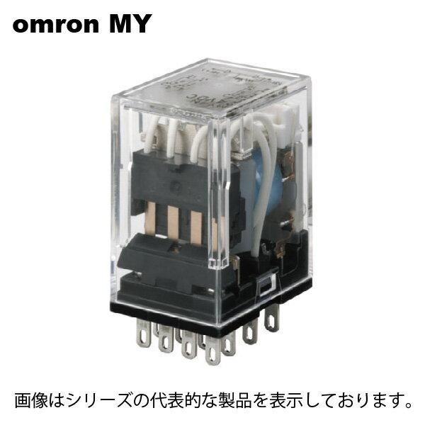 在庫品 オムロン MY4N AC200/220 MYリレー4C動作表示灯内蔵