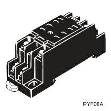 在庫品 オムロン PYF08A FOR MY MY2用 表面接続ソケット 8ピン M3ネジ端子台