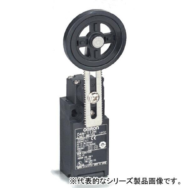 在庫品 オムロン D4N-212H 小形セーフティ・リミットスイッチ 可変ローラ・レバー形(R32〜66) 接点構成1NC/1NO 一般負荷/微小負荷共用