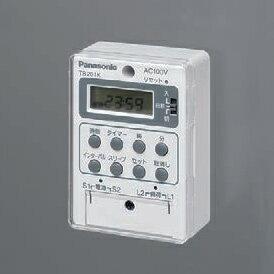 在庫品 パナソニック(Panasonic) TB20101K 24時間式タイムスイッチ 電子式 AC100V別回路