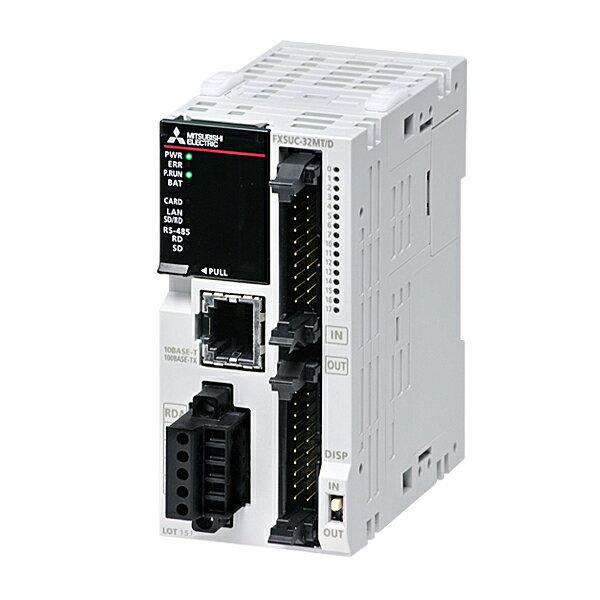 在庫品 三菱電機 FX5UC-32MT/D MELSEC-Fシーケンサ FX5UC CPUユニット DC24V電源 入力16点(DC24V シンク)出力16点(トランジスタ シンク) Ethernet1ch RS-485:1ch