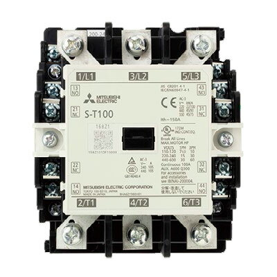 在庫品 三菱電機 S-T100 AC200V 電磁接触器