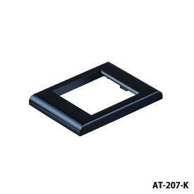 在庫品 NKKスイッチズ AT-207-K (色:黒) M-J、MB-J、EB角形マウンタ用