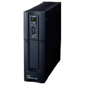 BY120S オムロンUPS(OMRON) 無停電電源装置小型・軽量・低価格(常時商用給電/正弦波出力) 1200VA/720W
