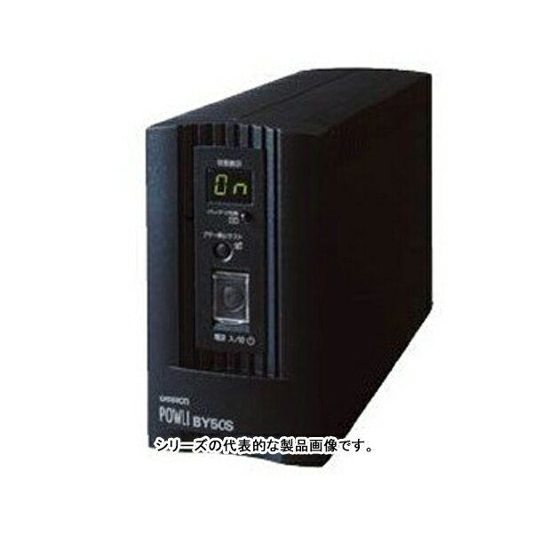 在庫品 BY35S オムロンUPS(OMRON) 無停電電源装置小型・軽量・低価格(常時商用給電/正弦波出力) 350VA/210W