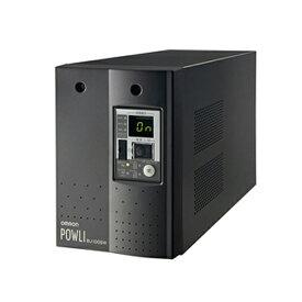 BU100SW オムロンUPS(OMRON) 無停電電源装置(常時インバータ給電)電源変動の激しい場所にも対応 1000VA/700W:縦置