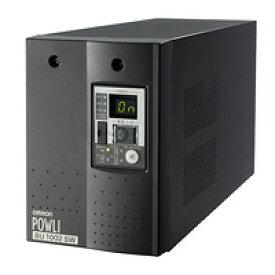 BU1002SW オムロンUPS(OMRON) 無停電電源装置(常時インバータ給電)入出力200〜240V対応 AC200V:1000VA/700W:縦置