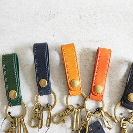 【クリックポスト便OK】Hawk Company ホークカンパニー Italian Leather Key Ring キーホルダー レザープレゼント メンズ レディース【6268】【キーホルダー 本革 ユニセックス】
