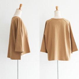 BagsyバグジーオーガニックコットンTシャツカットソー半袖ゆったりサイズ