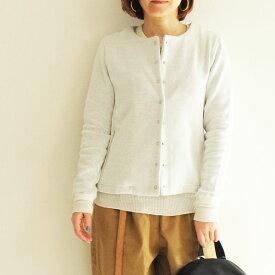 【送料無料】Bagsy バグジー 裏ガーゼ カーディガン 春 羽織 カジュアル スナップボタン