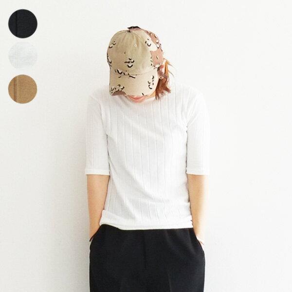 【メール便OK】2018 new ワイドリブ Tシャツ Bagsy バグジー レディース 半袖 cotton コットン 無地 カットソー ティーシャツ