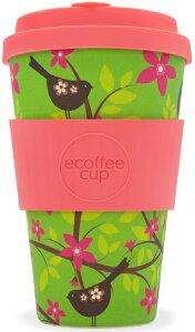 エコーヒーカップ|Wilddlebirdy Ecoffee Cup 400ml 耐熱 110度 110℃ 耐冷 -20度 -20℃ 繰り返し使える バンブーファイバー 竹繊維