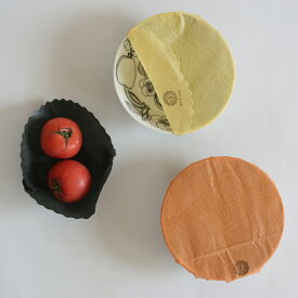 acowrap ミツロウラップ 蜜蝋 ラップ M 直径19cm 5寸皿 アコラップ
