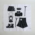 【メール便OK】cinq大きめのハンカチキャンブリック