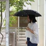 CINQ晴雨兼用傘ブラックグレー