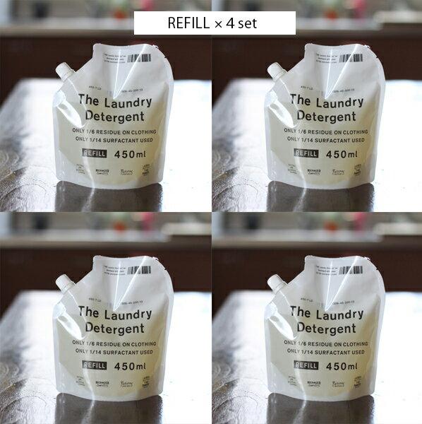 【送料無料】THE 洗濯洗剤 詰替用 詰め替え用 THE LAUNDRY DETERGENT REFILL  4本セット