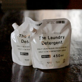 THE 洗濯洗剤 詰替用 2本セット  中川政七商店 THE LAUNDRY DETERGENT REFILL
