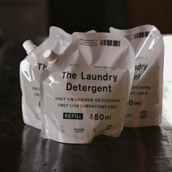 【送料無料・おまけ付】the 洗濯洗剤 詰替用 3本セット 洗剤 洗濯洗剤 液体洗剤 THE LAUNDRY DETERGENT REFILL 日本製 エコ 本体 ボトル 詰め替えセット
