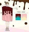 【予約数集まり次第生産】トップス Tシャツ ワンピース アイス 半袖* Favoriteオリジナル*スクエアシルエットのメル…