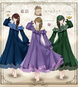 【予約数集まり次第生産】ルームウェア ワンピース オフショルダー オーガンジー 童話 おとぎ話 プリンセス*Favorite…