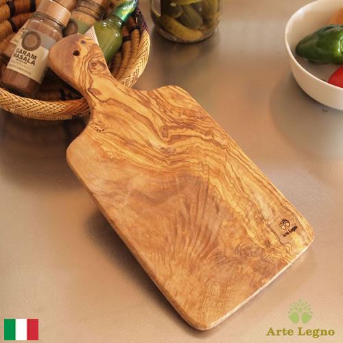 【クーポン配布中】 カッティングボード オリーブ まな板 木製 グランデ イタリア製 Arte Legno アルテレニョ サービングボード 481982