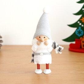 ノルディカニッセ スカーフサンタ サイレントナイトシリーズ NORDIKA nisse 2020 クリスマス 雑貨 木製 人形 北欧 NRD120636