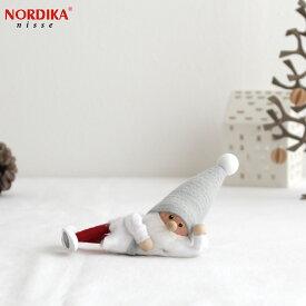 【10月中旬入荷予定 ご予約受付中】 ノルディカニッセ 2021 ひとやすみサンタ サイレントナイトシリーズ NORDIKA nisse クリスマス 雑貨 木製 人形 北欧 NRD120687