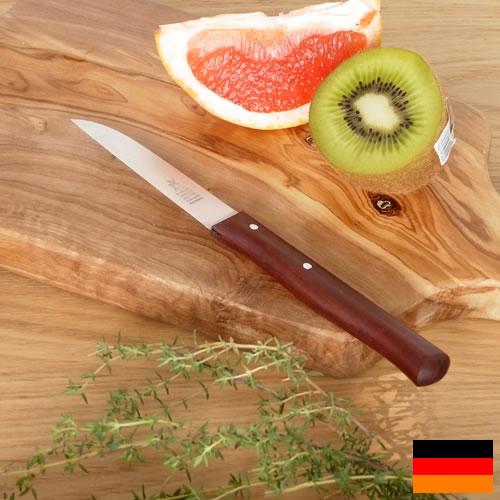 ロベルトヘアダー フルーツナイフ ベジタブルナイフ プラムウッド テーブルナイフ 朝食用ナイフ Robert Header ドイツ製