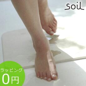 soil ソイル バスマット ライト 珪藻土バスマット ★ラッピング無料★ BATH MAT light 珪藻土の速乾バスマット B246