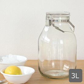 セラーメイト 取手付密封びん 3L 保存容器 保存瓶 果実酒 瓶 ガラス瓶 密封瓶 大容量 星硝 日本製