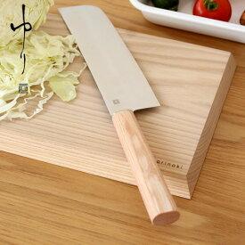 ゆり 菜切り包丁 志津刃物 野菜切り包丁 日本製 桐箱入り 女性におすすめ