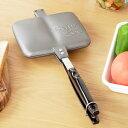 BawLoo バウルー ホットサンドメーカー サンドイッチトースター ダブル 日本製 made in Japanフッ素樹脂加工 アウトド…